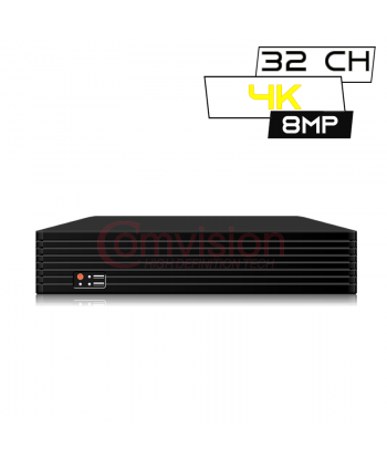 DVR  32 Canales UHD 8...